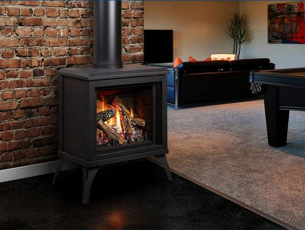 kingsman direct vent gas stove