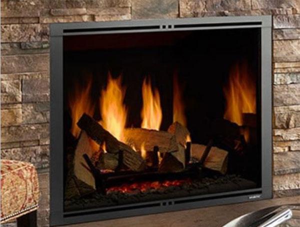 majestic traditional gas fireplace