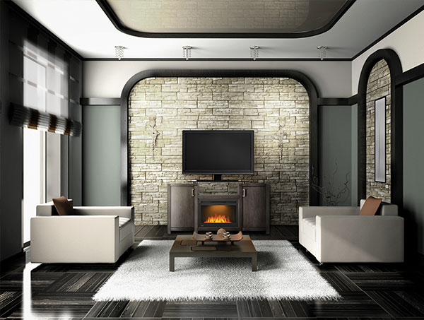 napoleon electric mantel package