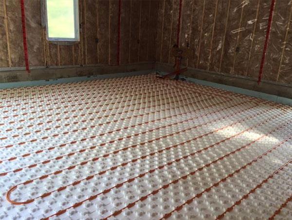 In-Floor Radiant Heat