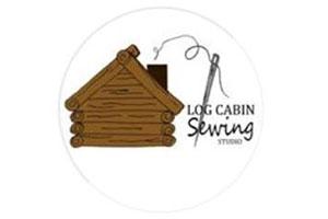 log cabin sewing logo