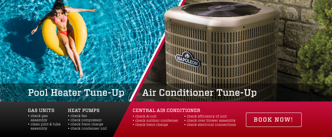 Pool Heater & Air Conditioner Tune-Up